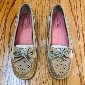 Sperry Top-Sider Leather Eyelet Deck Boat Shoe 6.5